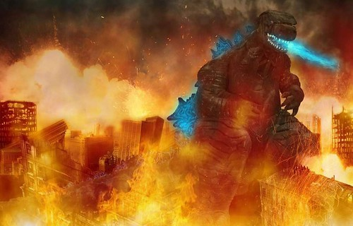 Godzilla 2019 Version 1.0 photoshoot