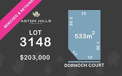 Lot 3148, Dornoch Court, Mount Barker SA