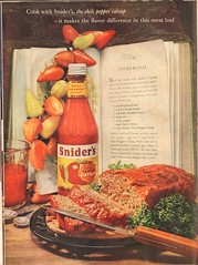 1960 Sniders Chili Pepper Catsup Advertisement Life Magazine May 2 1960
