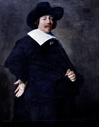 IMG_4990FB Frans Hals. 1581-1666. Haarlem.   Portrait d'un homme. vers 1640   Cologne Wallraf Richartz Museum.