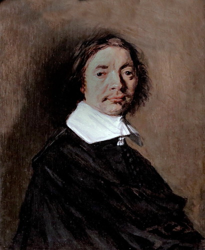 IMG_4980A Frans Hals. 1580-1666. Haarlem.    Portrait d'homme. 1660.   La Haye (Den Haag) Mauritshuis.
