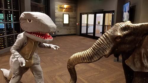 Gorosaurus vs an African elephant