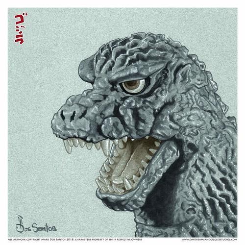 Kaiju Glamour Shots Godzilla 1984