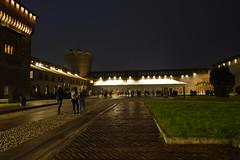 Piazza d'Armi @ Castello Sforzesco @ Milan