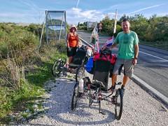 UK couple on the road in Croatia