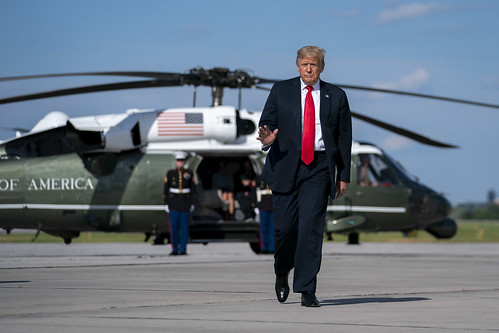 President Trump Travels to Wisconsin by The White House, on Flickr