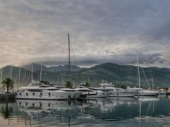 Tivat marina, Montenegro