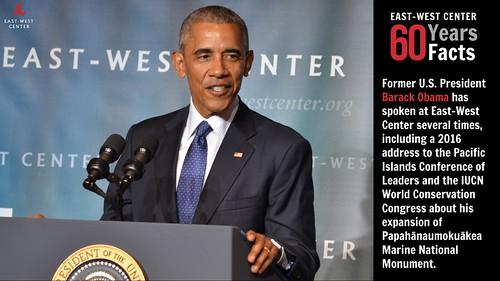 #EWC60 Fact #8: Obama at EWC