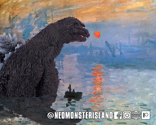 Impressionable Godzilla