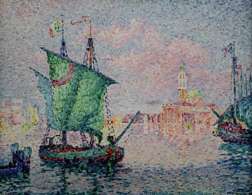 IMG_6583 Paul Signac  1863-1935  Paris  Venise, le nuage rose  Venice, the pink cloud  1909 Musée Wien   Albertina