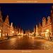 Lüneburg Innenstadt bei Nacht/Luneburg city center at night/吕讷堡市中心在晚上/مركز مدينة لونبورغ في الليل