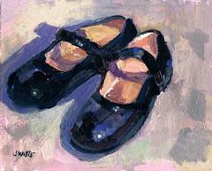Shoe in the sun