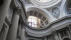 Borromini, San Carlino, arch