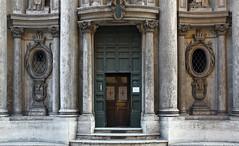 Borromini, San Carlino, portal