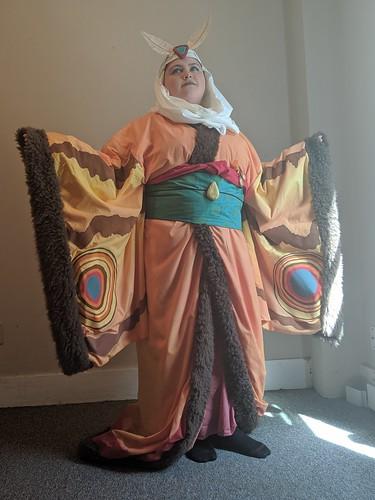 Mothra Gijinka - Raphael Cosplay (3 of 4)