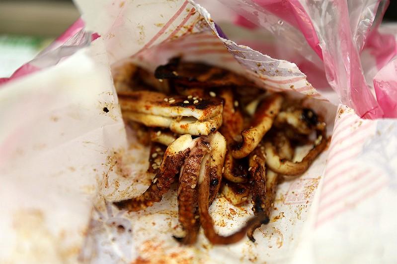 中和廟口烤肉攤全程碳烤不油炸排隊人氣美食62