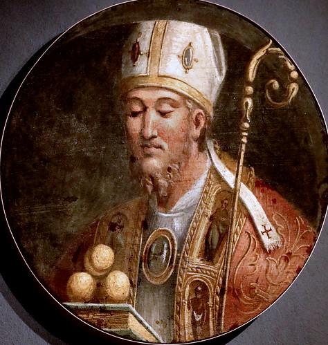 IMG_9464M Girolamo da Carpi (Girolamo Sellari )1500-1556  Ferrara Saint Nicolas de Bari  Ferrara Pinacoteca Nazionale