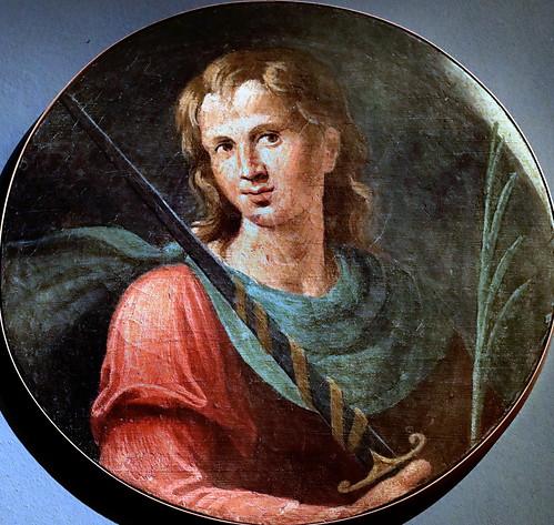 IMG_9464K Girolamo da Carpi (Girolamo Sellari )1500-1556  Ferrara Saint Martyr avec une épée  Saint Martyr with a sword Ferrara Pinacoteca Nazionale