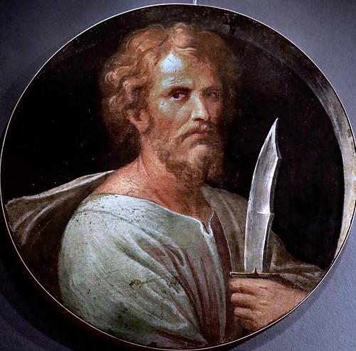 IMG_9464L Girolamo da Carpi (Girolamo Sellari )1500-1556  Ferrara Saint Barthélémy Ferrara Pinacoteca Nazionale