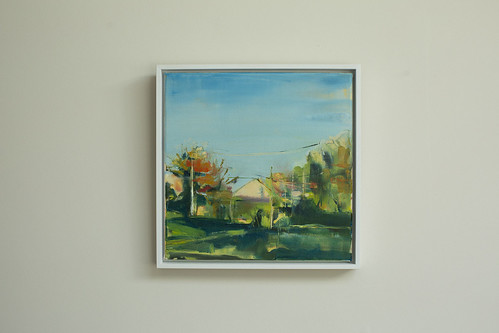 Sarah Gallagher  Shapes Oil on canvas 30x30  €395