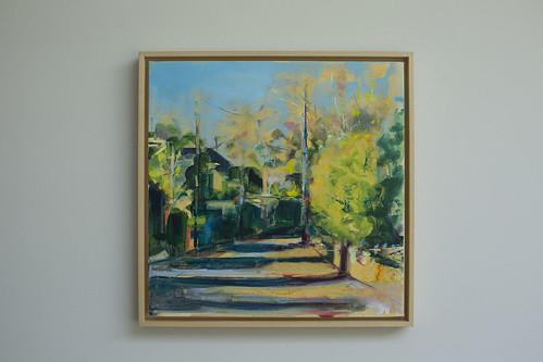 Sarah Gallagher Sunlight Oil on Canvas 40 x 40cm €495