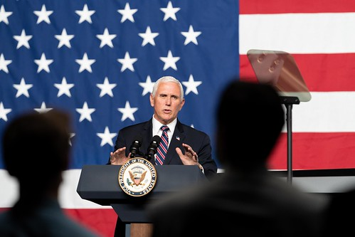 Vice President Pence in Ohio by The White House, on Flickr