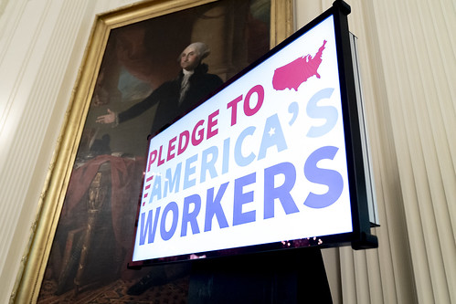 The American Workforce Policy Advisory B by The White House, on Flickr