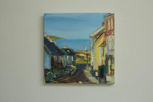 Sarah Gallagher  Joy Oil on canvas 40x40  €495