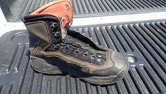 Cleaning Wader Boot