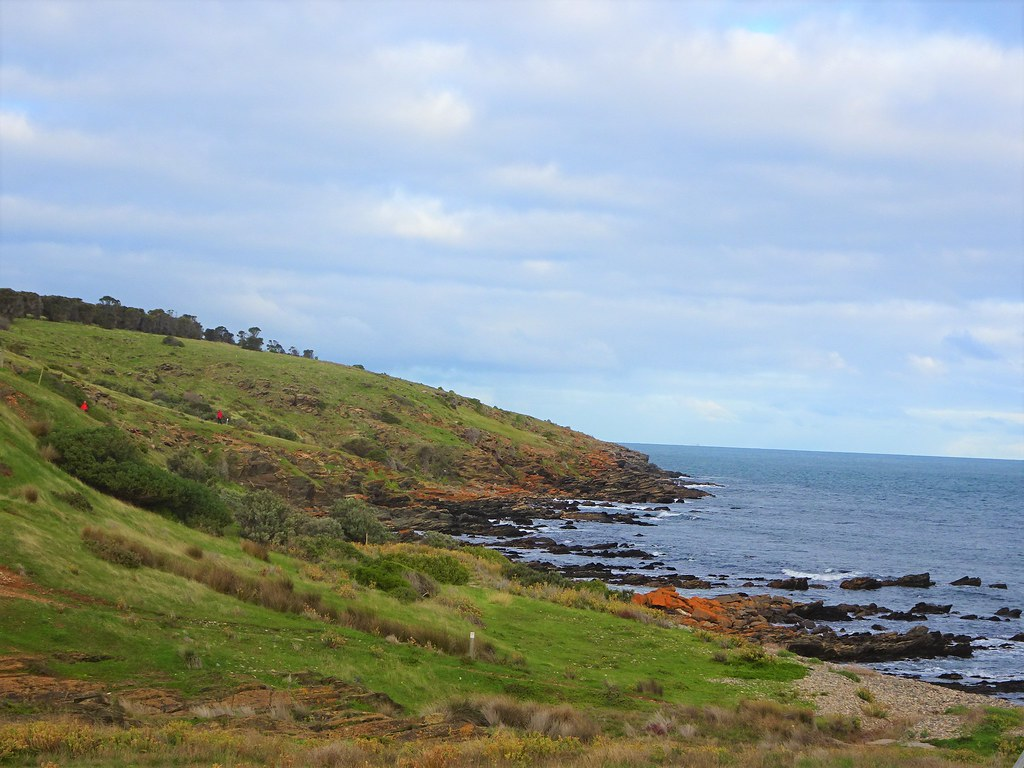 Fishery Beach near Cape Jervis on the Fleurieu Peninsula. This beach was used as a whaling station from the 1840s to the 1850s.