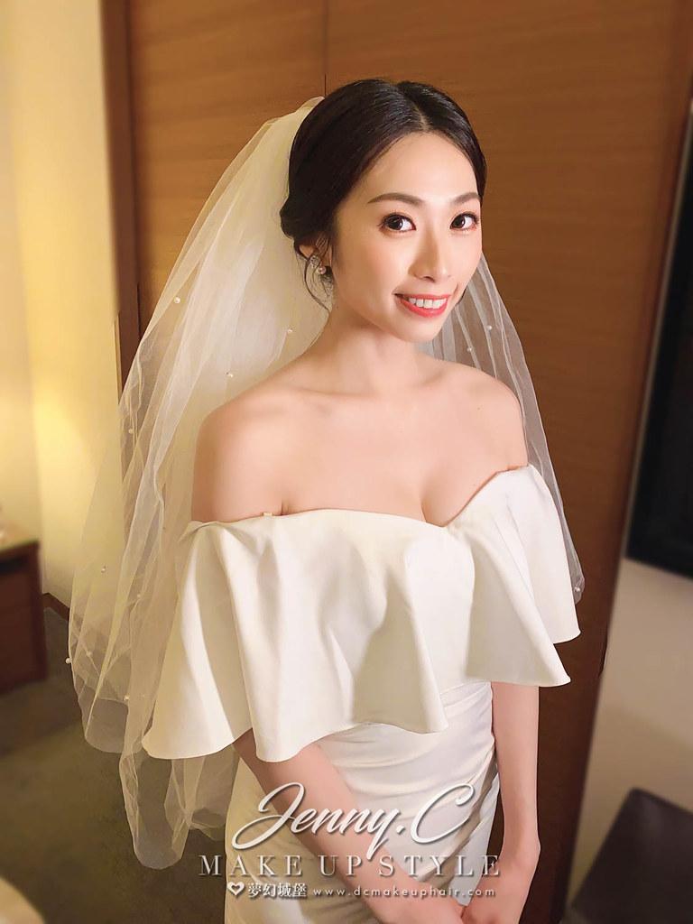 【新秘蓁妮】bride 竹竹 訂結造型 / 中式造型,韓系簡約