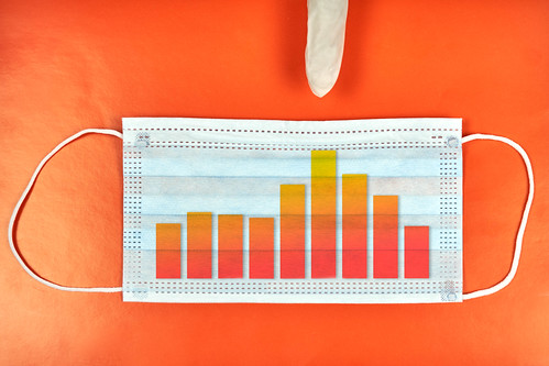 Diagram showing the peak of coronavirus infection passed