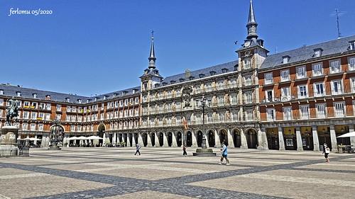 Madrid Plaza Mayor 20200528