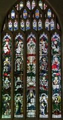 Photo of Tenby, Pembrokeshire, St Mary, east window by William Wailes 1856