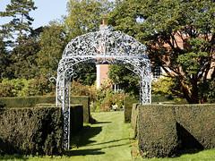 Photo of Feeringbury Manor garden path gazebo, Feering Essex England