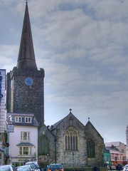 Photo of Tenby, Pembrokeshire, St Mary, exterior from the east
