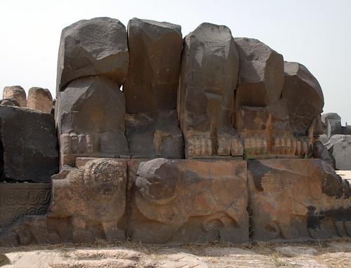 Tell Ain Dara Temple c.1300 Early Iron Age Syro-Hittite Antechamber Orthostats (2e)