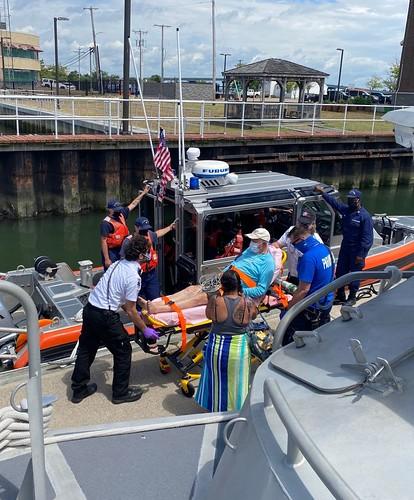Coast Guard medevacs man near Brigantine, New Jersey