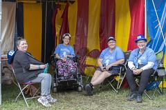 Inclusion Tent volunteers