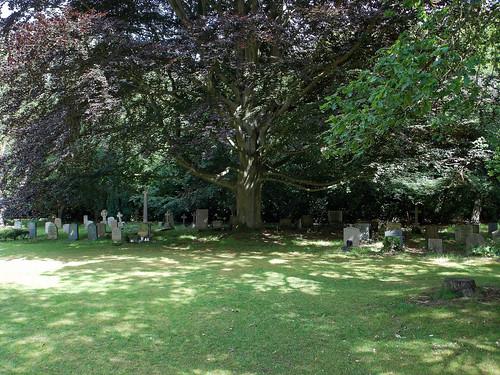 Church of the Holy Innocents, High Beach, Essex, England - churchyard