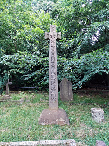 Church of the Holy Innocents, High Beach, Essex, England - churchyard Andrew Roddick monument