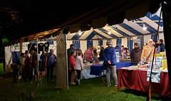 craft tent night