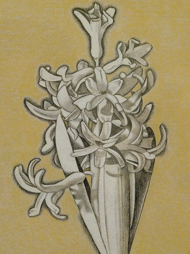 Self-portrait with Hyacinth Pot, 1947-8