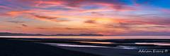 Photo of Beach Sunset Panorama
