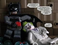 TDKR Batman vs Joker