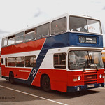 Go-Ahead Gateshead 3739, a 1984 ECW bodied Leyland Olympian, reg no B739GCN