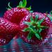 Es sind noch Erdbeeren da!