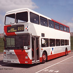 Northumbria Leyland Olympian/Northern Counties 353 reg no OSK774