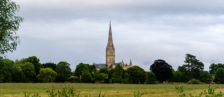 Salisbury Cathedral from the Meadows