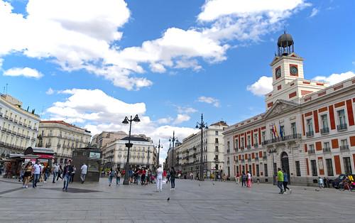 PUERTA DEL SOL MADRID  1064 13-6-2020